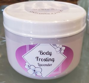 body frosting, a best body butter to repair dry, broken or damaged skin. best anti wrinkle cream