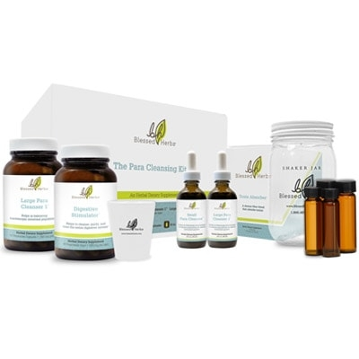 Blessed Herbs Para Cleansing Kit to Improve Your Immune System with Natural Ingredients